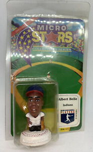 1995 Albert Belle The Original Micro Stars Collector's Series Cleveland Indians