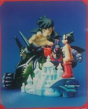K-T Figure Collection Astro Boy Diorama Scene Atlas Pluto Tenma Kaiyodo TAKARA