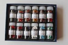 China painting Sumi-e China's mineral paints 12 color 5 g Pigments