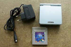 Nintendo GameBoy Advance SP AGS-101 Light Blue #0226