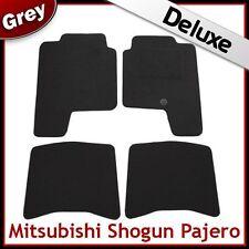 MITSUBISHI Shogun 1992 1993 1994... 2000 LUSSO SU MISURA tappetini per AUTO 1300g Grigio