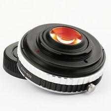 RIDUTTORE di focale SPEED BOOSTER Canon EOS EF Lente a Micro 4/3 Adattatore apertura gh5