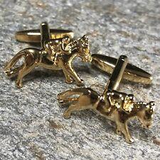 Jockey Cufflinks / Horse Racing Cufflinks / Equestrian Jewelry