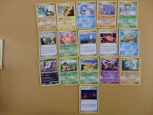 16x Pokemon Cards Diamond & Pearl Lot 39