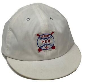 Junior Pro Baby Stretch Fit Baseball Hat Cap WHITE RN36469 Medium Little Slugger