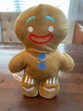 "Shrek Gingy The Gingerbread Man 13"" Plush! Rare HTF Shrek2"