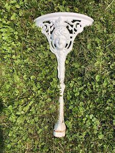 Figural Cast Iron Table Legs Porch Patio Antique Fountain Garden Embellishment