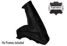 BLACK SUEDE BLACK LEATHER FITS HOLDEN ASTRA 1998-2005 HANDBRAKE COVER BOOT