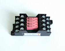Relay RS4D-DE, 4 Pole Socket, Input: DC 24V, Output: DC 24V Fuji Electric