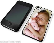 Coque Housse Etui protection iPhone 4 ou 4S personnalisée avec photo