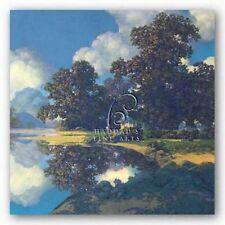 LAKE ART PRINT Sheltering Oak Maxfield Parrish