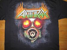 NEW ANTHRAX SUMMER 2011 CONCERT TOUR T-SHIRT L BLACK THRASH METAL SCOTT IAN MOSH