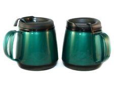 2 Foam Insulated 20 oz Wide Body Travel Mugs Green