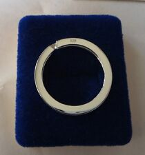 Sterling Silver 3 cm diameter Split Ring Keyring great gift for Men or Women