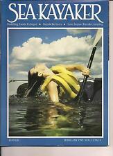 SEA KAYAKER 1995 PADDLING EXOTIC POHNPEI KAYAK CAMPING PASS CHANDELEUR ISLANDS