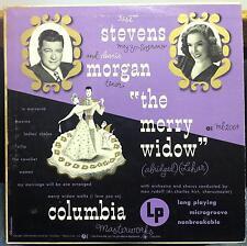 "RISE STEVENS & MORGAN lehar the merry widow 10"" VG+ ML 2064 ALEX STEINWEISS 1949"