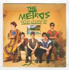 (FZ255) The Metros, Talk About It - 2008 DJ CD