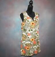 White Stag Women's Top & Shorts Outfit Size Large Hawaiian Tropical Beach Rayon