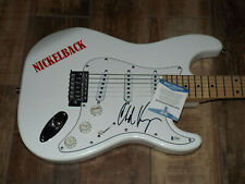 Chad Kroeger Nickelback Signed Guitar Beckett  BAS COA AUTOGRAPHED ELECTRIC