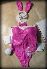 Sequins Playboy Bunny Costume