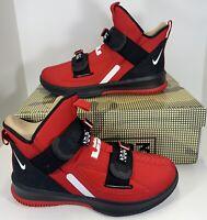 Nike Lebron Soldier XIII 13 SFG AR4225-600 Men's Size 7.5 Red White Black Jordan