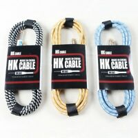 Electric Guitar Cable Wire Cord 3M 5M 10M Bass Cable For Guitar Amplifier