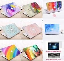 "Design Laptop Hard Case Keyboard Screen Film Macbook Air 13 Pro 13/15"" 2016-2019"