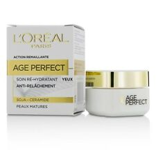 L'Oreal Age Perfect Re-Hydrating Eye Cream - For Mature Skin 15ml Womens Skin