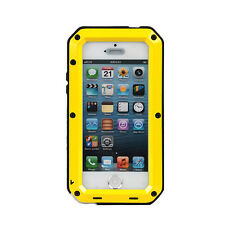 Full Case Cover Shockproof Rugged Aluminum Gorilla Glass Metal For Apple iPhone
