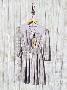 Darling Retro Printed Dress - Size: S / Was Selling At Anthropologie Brands