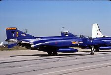 Original colour slide Phantom FGR.2 spcl. XV408/Z of 92 Sqdn. Royal Air Force