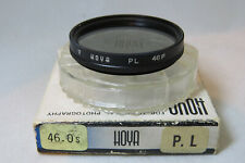 Hoya 46mm PL Polarizing Filter - Lovely Older Version - Rare