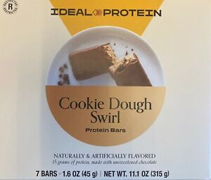 IDEAL PROTEIN Cookie Dough Swirl Protein Bars Newest release