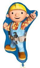 "Official Bob The Builder LARGE 28"" SuperShape Foil Helium Balloon Kids Party"