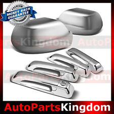 05-10 JEEP GRAND CHEROKEE Triple Chrome plated ABS Mirror+4 Door Handle Cover
