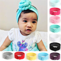 Newly Girl Baby Toddler Turban Knot Headband Hair Band Accessories Headwear Cute