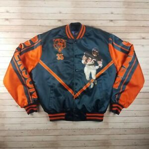 Ultra Rare Vintage 1990s Neal Anderson Chicago Bears Starline NFL Jacket