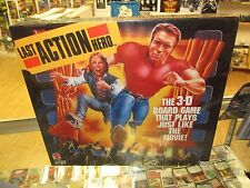 1993 Last Action Hero 3-D Board Game, Factory Sealed Movie Memorabilia Fun Game!
