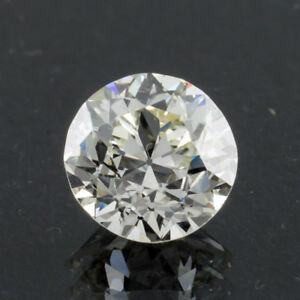 1.26 Carat Loose L / VVS2 Circular Brilliant Cut Diamond GIA Certified