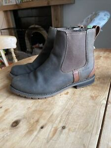Ariat Wexford Short Boot Jodphur Chelsea Brown Waterproof