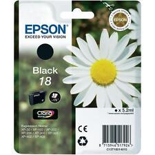 Tinta negra de 18 Originales Epson T1801 de expresión XP-302 XP-402 XP-102 XP-30