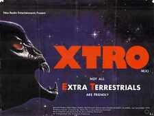 Xtro Poster 03 Metal Sign A4 12x8 Aluminium