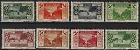 Lebanon - 1936 - Scott # 49 thru 56 - Complete Set - Mint OG Hinged