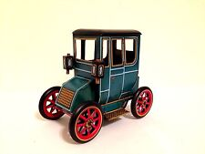 VINTAGE MODERN TOYS OF JAPAN LEVER ACTION OLD TIMER TIN TOY CAR