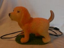 Yellow Plastic Formed Yellow Labrador Retriever Puppy Night Light