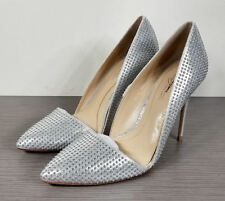 Imagine Vince Camuto Ossie d'Orsay Pump, Platinum, Womens Size 7.5 / 37.5