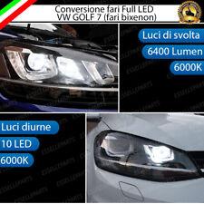 KIT CONVERSIONE FARI FULL LED VW GOLF 7 FARO BIXENON, LUCI DI SVOLTA + POSIZIONE