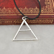 30 Seconds To Mars Triad Silver Triangle Jared Echelon Necklace Pendant