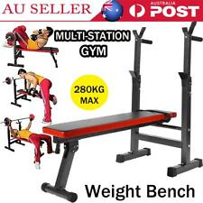 Multi-station Weight Bench Press Fitness Equipment Flat Incline Capacity 280kg