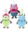 Clip On Worry Monster 15cm Loves Eating Worries & Bad Nightmares Dreams 453313